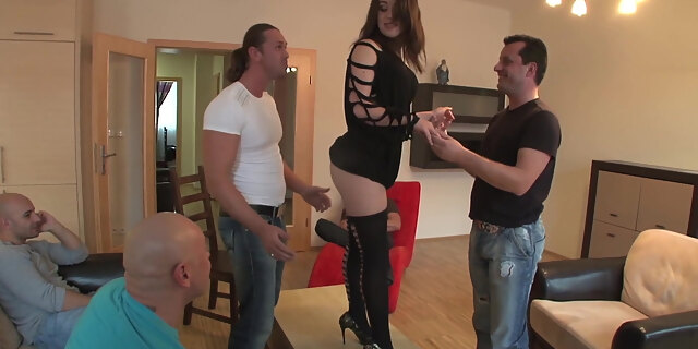 blowjob,european,french,gangbang,group,hardcore,milf,pornstar,slut,tiffany doll,white,