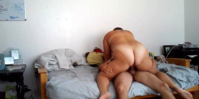 ass,bbw,big ass,butt,creampie,cute,dick,hidden,orgasm,riding,webcam,wife,