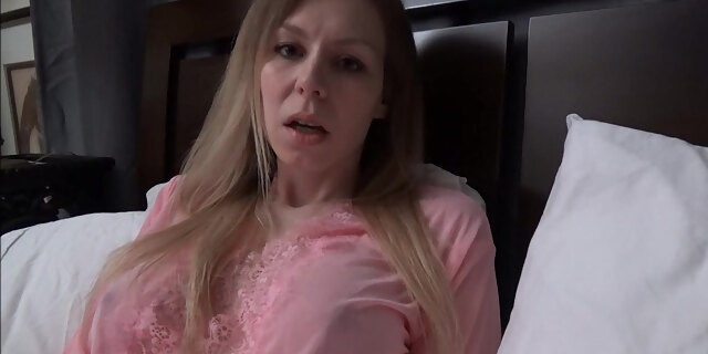 blonde,milf,mom,pov,sex,sleepover,stepmom,