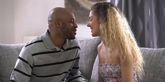 black cock,blowjob,couch,doggystyle,european,hardcore,huge cock,hungarian,interracial,licking,monique woods,pornstar,riding,sex,shaved,young,