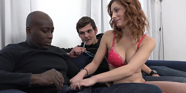 anal,big cock,creampie,cuckold,interracial,pussy licking,wife,