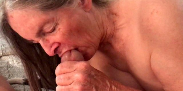 amateur,cum in mouth,grandma,granny,handjob,homemade,sucking,