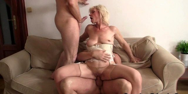 blonde,cute,double penetration,dp,friend,grandma,granny,mature,old young,penetrating,threesome,