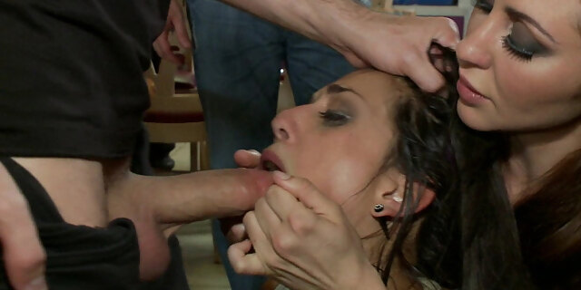 bdsm,brunette,doggystyle,domination,european,fingering,fisting,fucking,gangbang,group,hardcore,humiliation,public,punishment,reality,restaurant,rough,sex,spreading,table,watching,white,young,