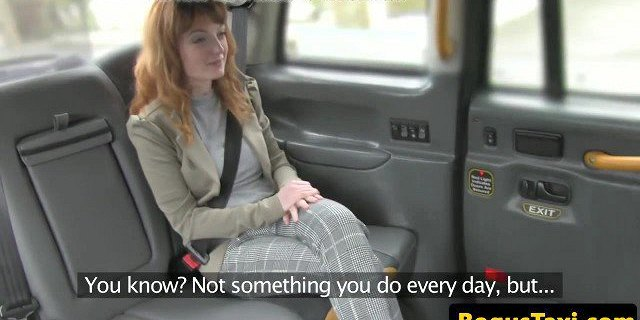 british,cum in mouth,mouth,redhead,taxi,throat,