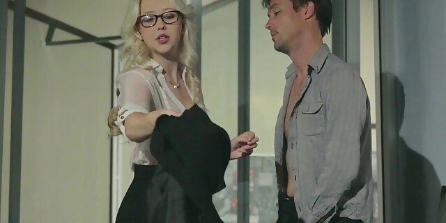 american,babe,blonde,blowjob,clothed,desk,glasses,hardcore,north,office,pornstar,samantha rone,secretary,sex,table,white,young,